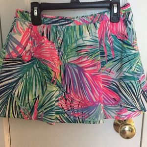 Girl's Lilly Pulitzer Palms Skirt- Worn once